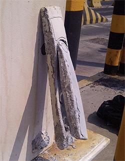 Fig. 4. Unanticipated corrosion