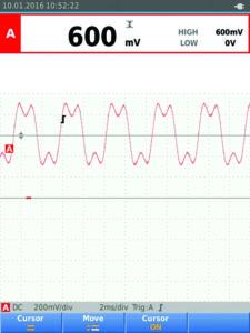 Fig. 9. Evaluate waveform DC offsets.