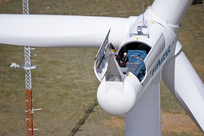 wind power maintenance techs