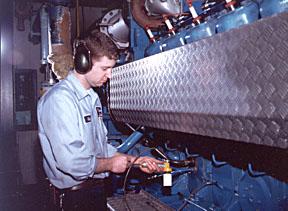 Wellesley College service tech