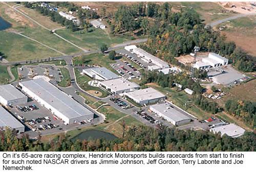 Hendrick's manufacuring complex